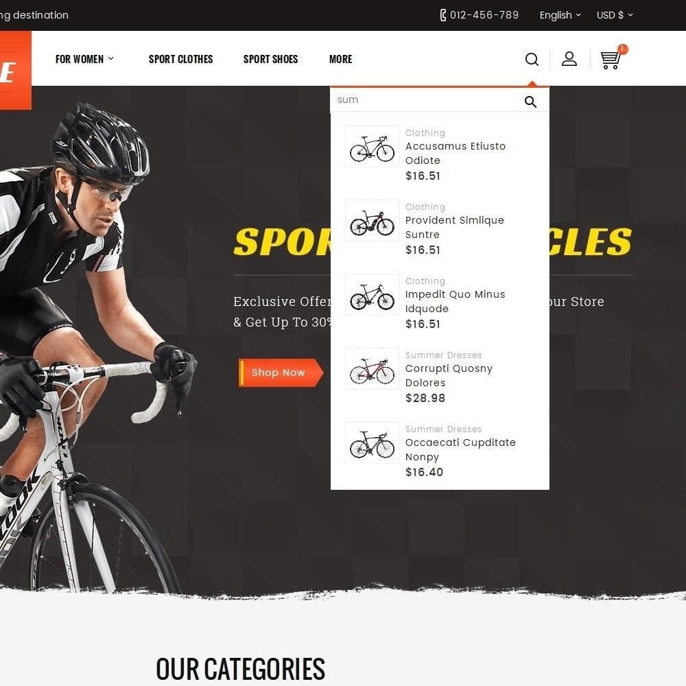 theme - Deportes, Actividades y Viajes - Sports Bicycle - 9