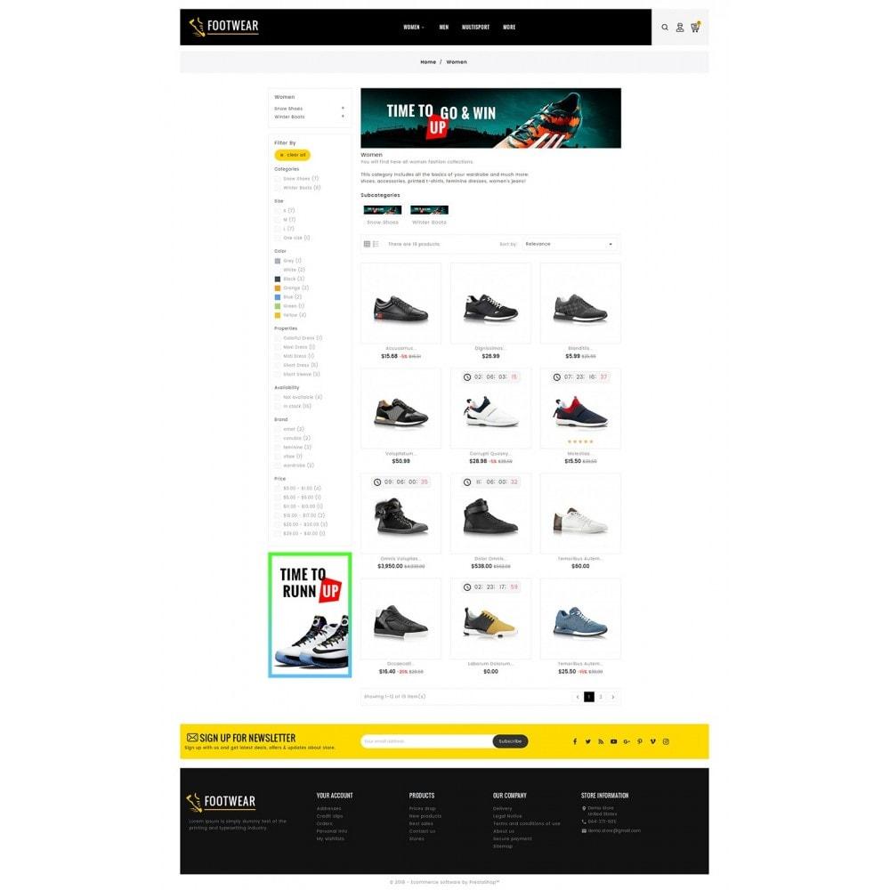 theme - Deportes, Actividades y Viajes - Sports & Footwear - 4