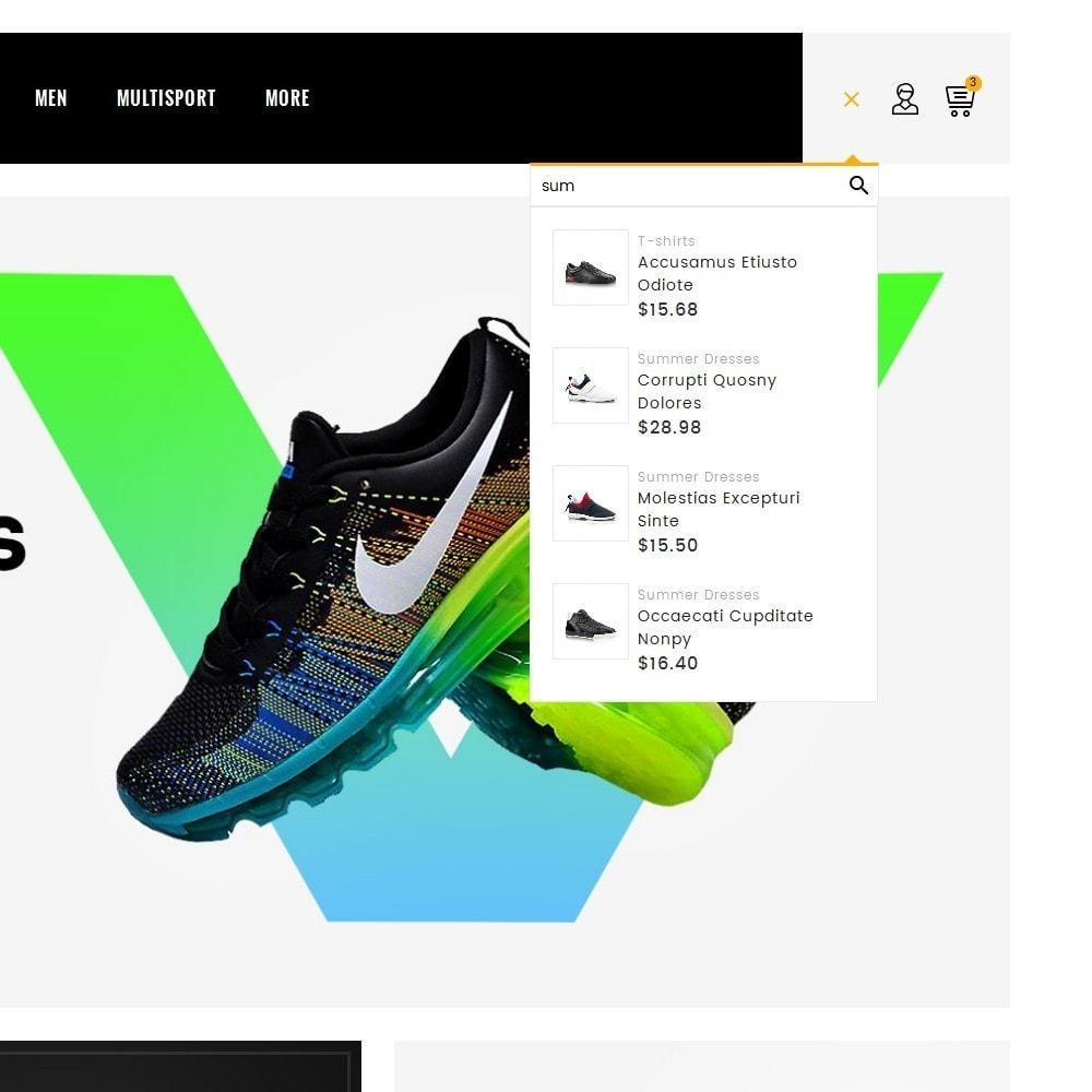 theme - Deportes, Actividades y Viajes - Sports & Footwear - 10