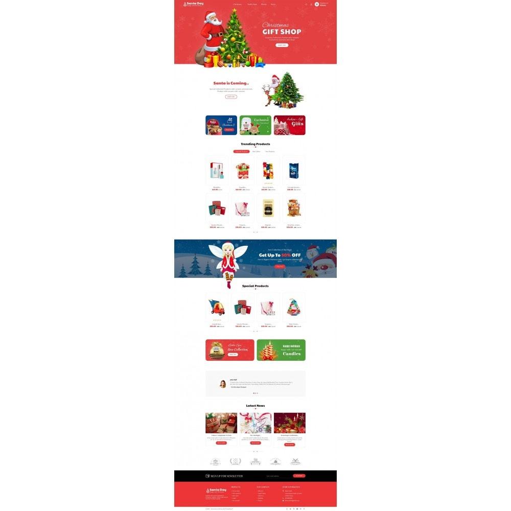 theme - Cadeaux, Fleurs et Fêtes - Santa Gift Store - 3