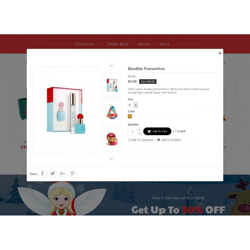 theme - Cadeaux, Fleurs et Fêtes - Santa Gift Store - 8