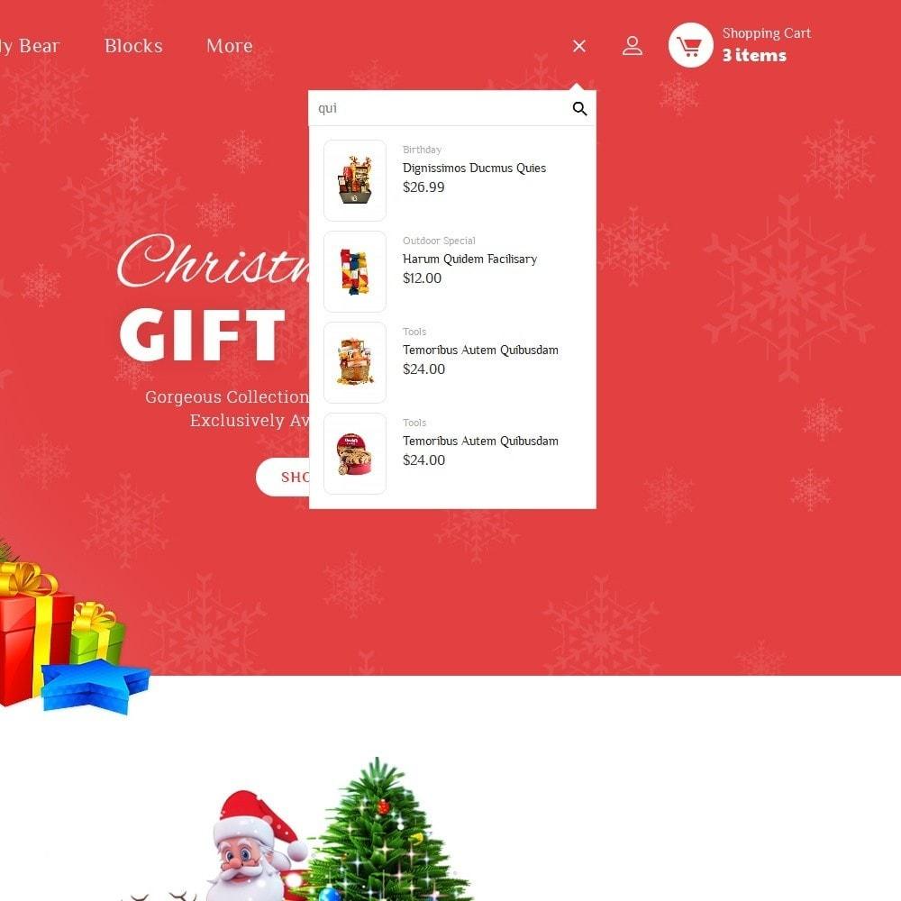 theme - Cadeaux, Fleurs et Fêtes - Santa Gift Store - 10
