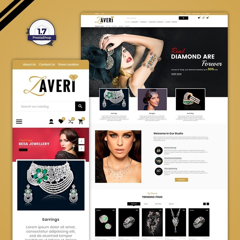 theme - Jewelry & Accessories - Zaveri – Jewelry & accessories Store - 1