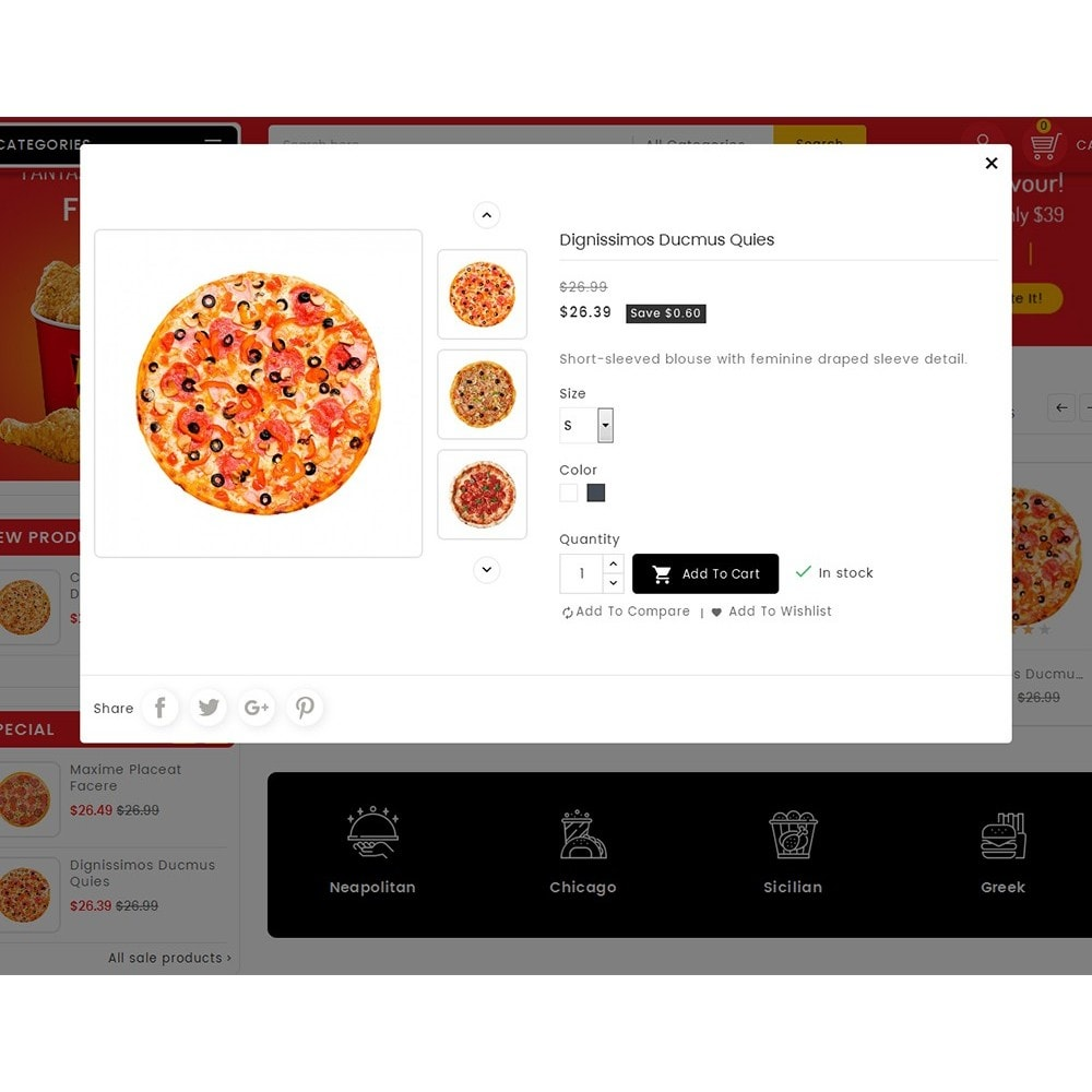 theme - Cibo & Ristorazione - Paprika Pizza - Fast Food - 8