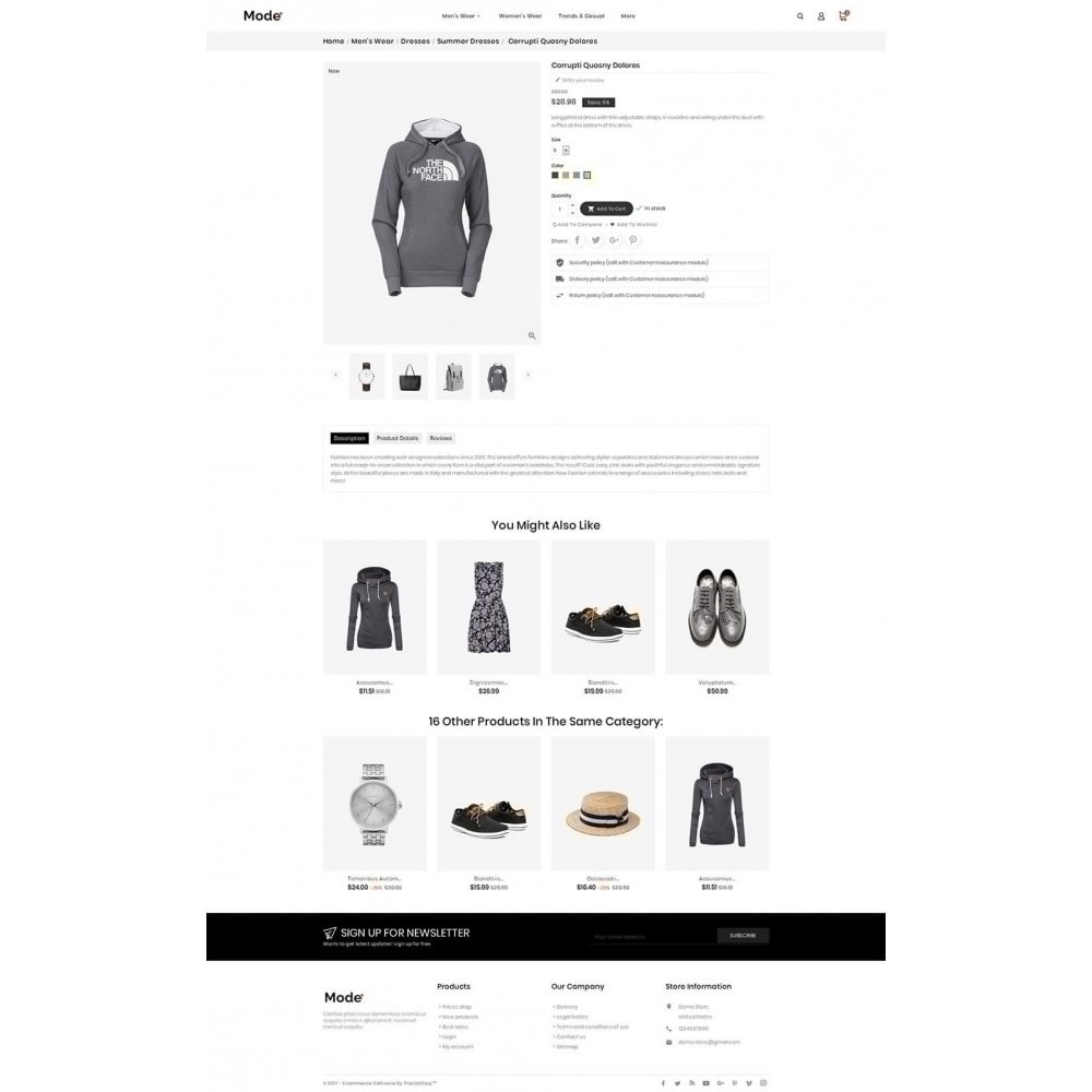 theme - Moda & Calzature - Mode Fashion - 6