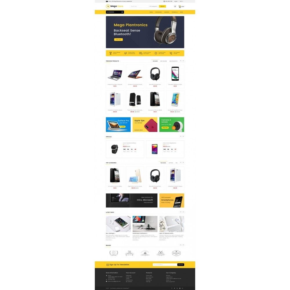 theme - Electronique & High Tech - Mega Store Electronics - 3