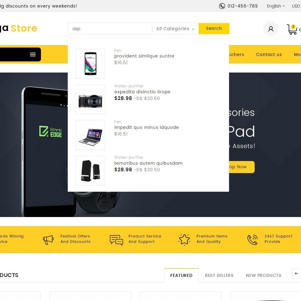 theme - Electronique & High Tech - Mega Store Electronics - 10