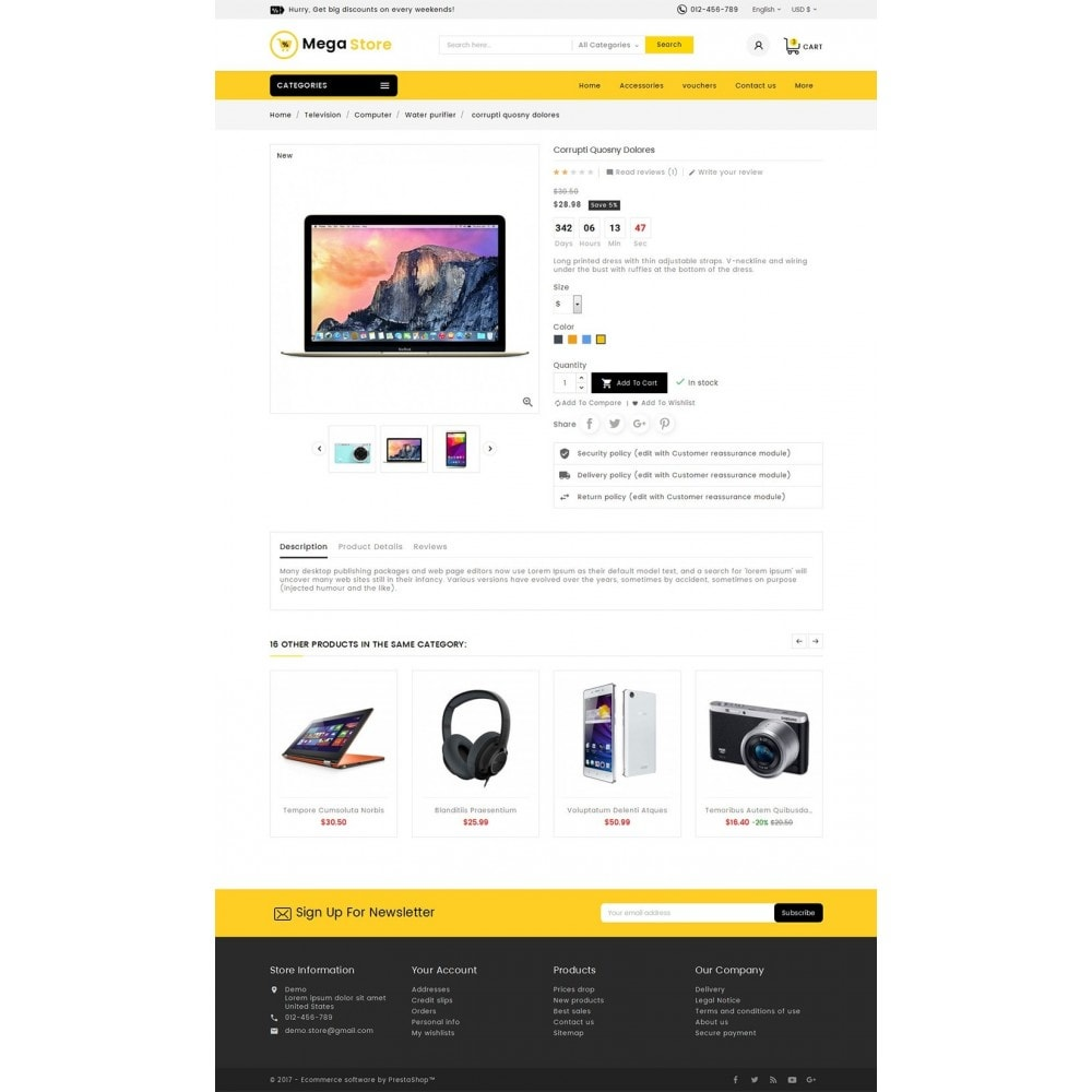 theme - Elettronica & High Tech - Mega Store Electronics - 6