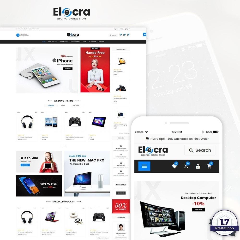 theme - Elektronica & High Tech - Elecra – Electronic Super Store - 1