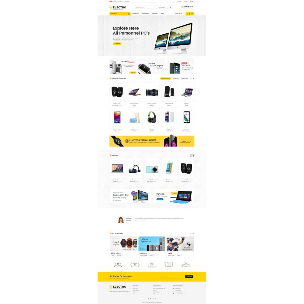 theme - Electronique & High Tech - Mega Electronics Store - 3