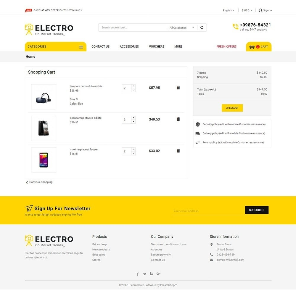 theme - Electronique & High Tech - Mega Electronics Store - 7