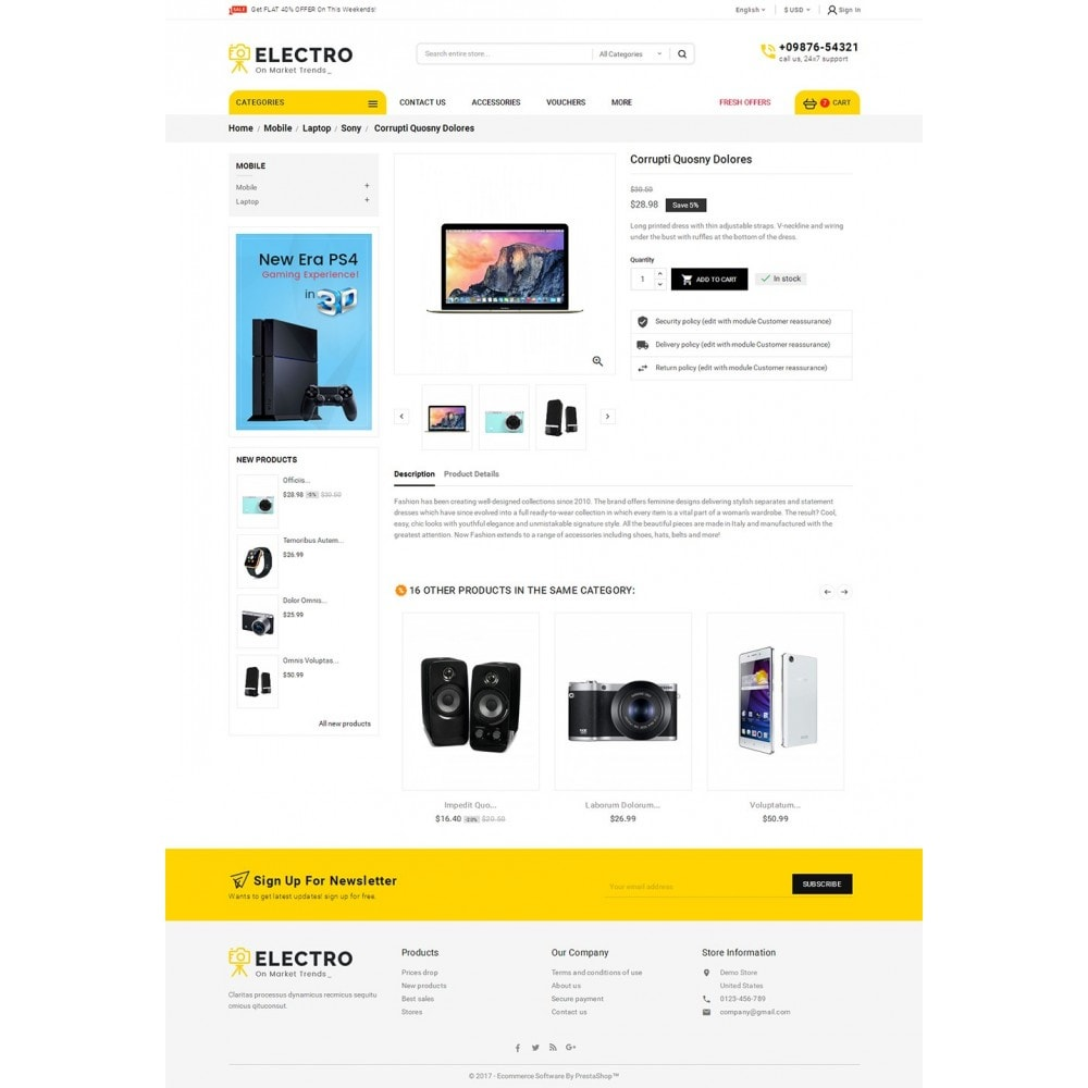 theme - Elettronica & High Tech - Mega Electronics Store - 6