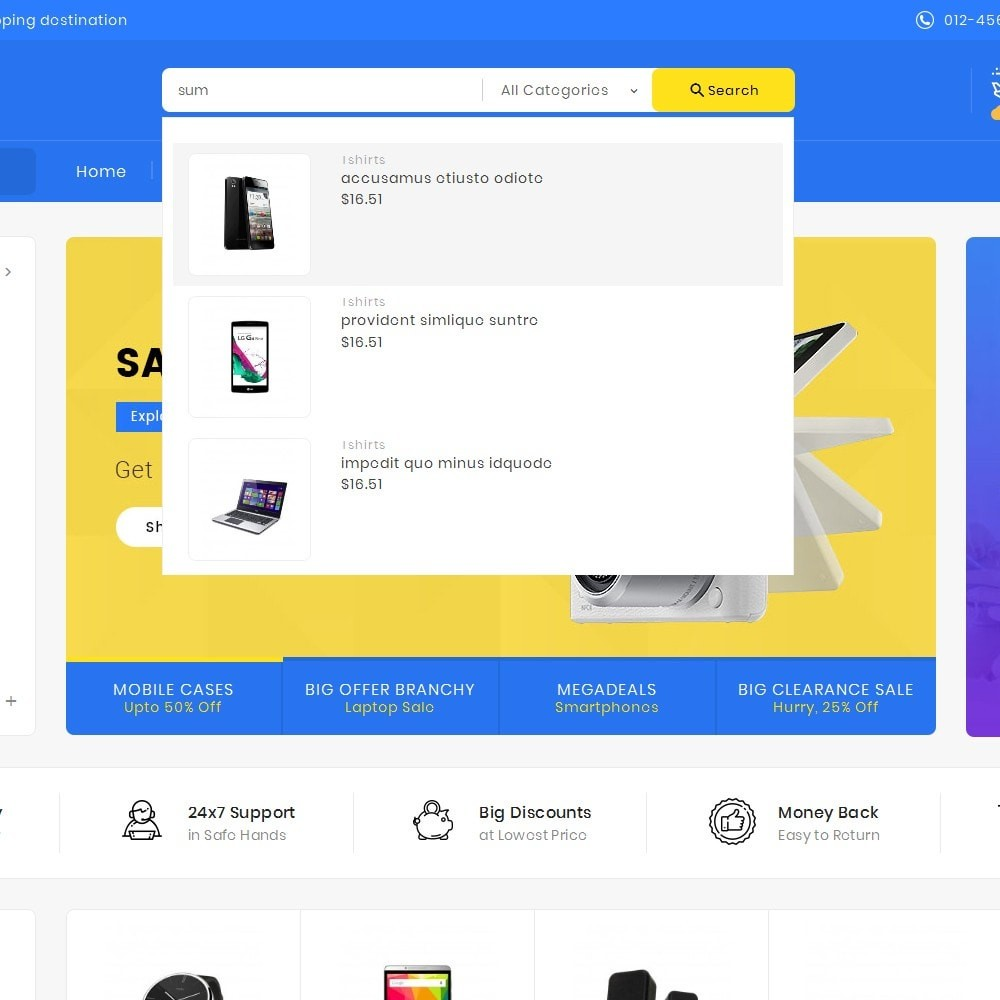 theme - Electronique & High Tech - Mega Electronics Shop - 10
