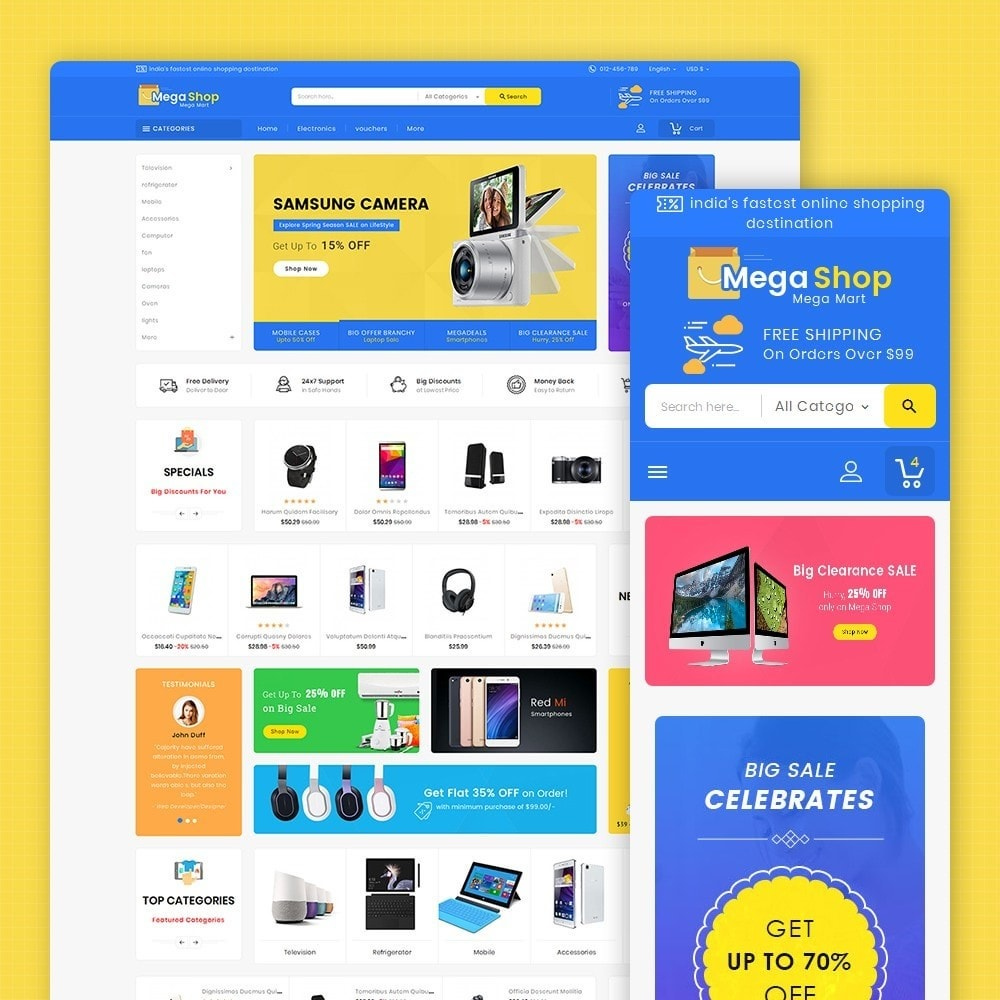 theme - Elettronica & High Tech - Mega Electronics Shop - 2