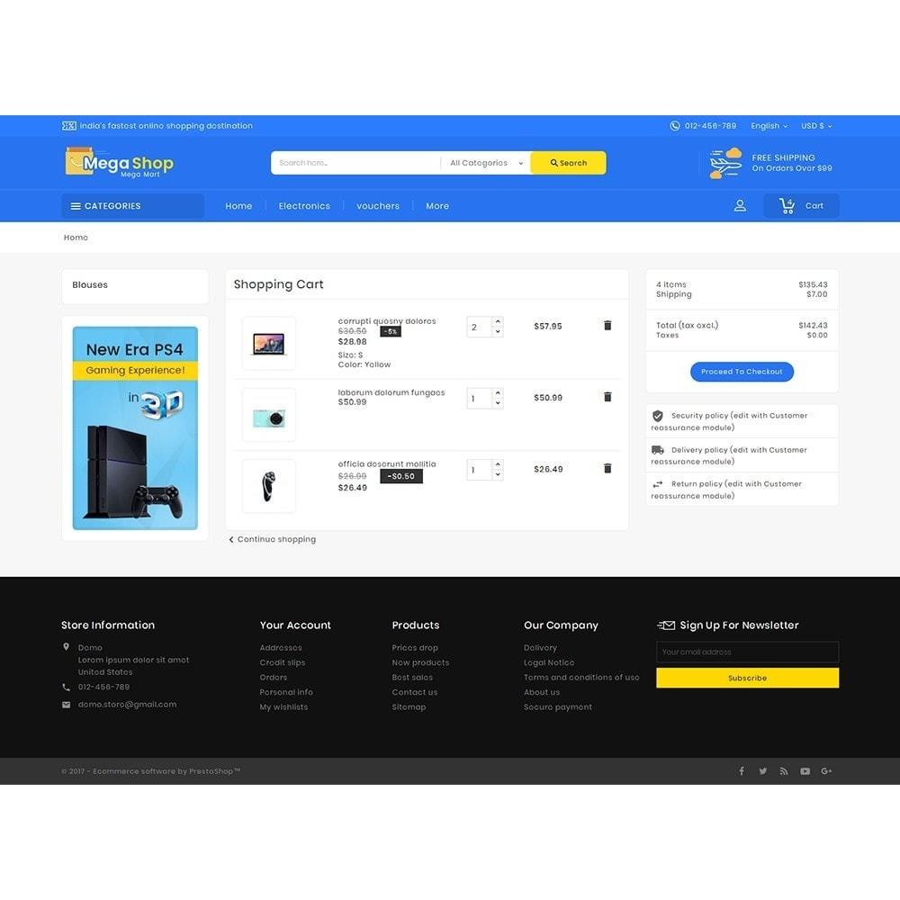 theme - Elettronica & High Tech - Mega Electronics Shop - 7