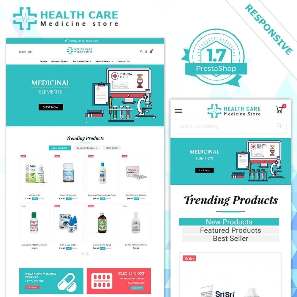theme - Saúde & Beleza - Loja de remédios - 2