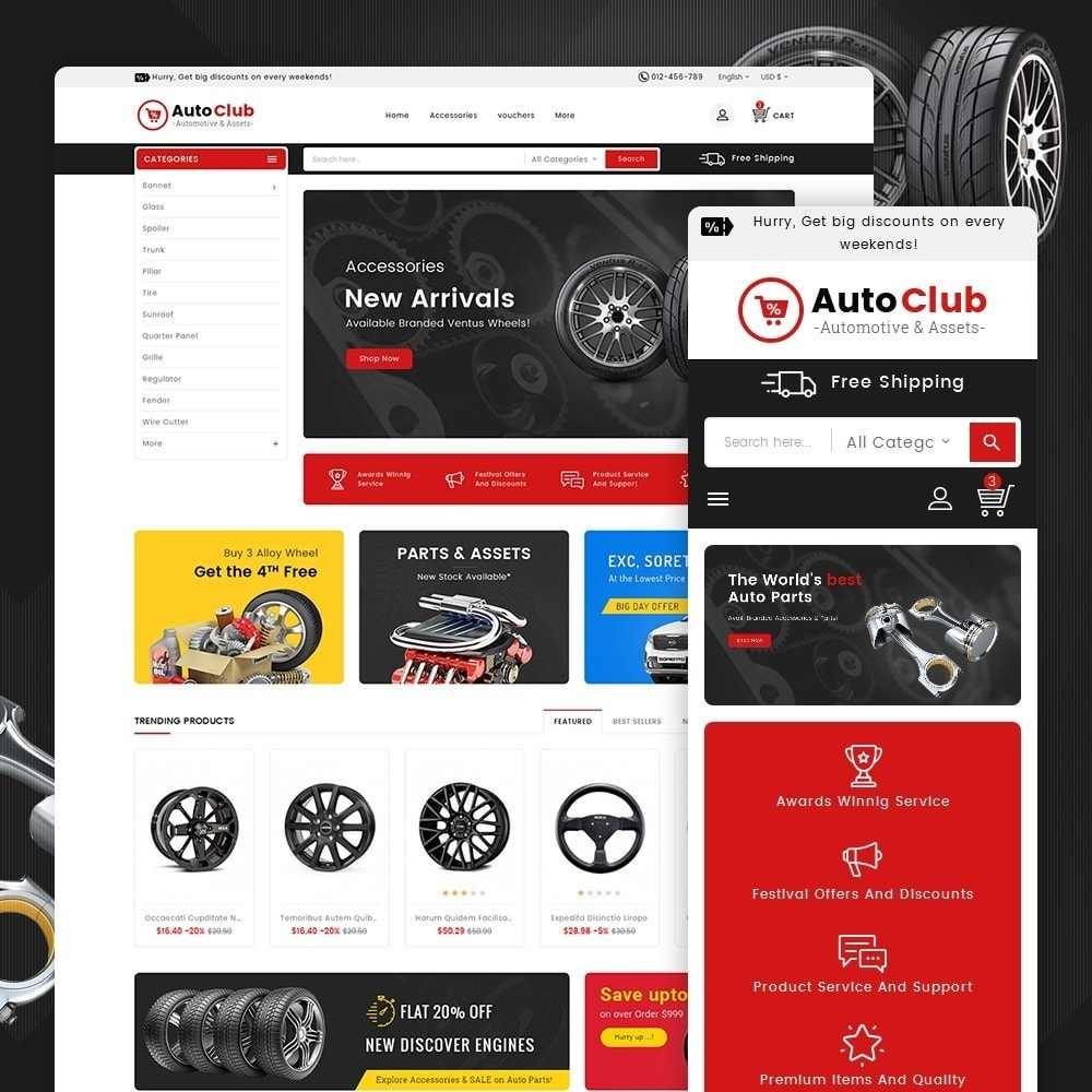 theme - Autos & Motorräder - Mega Auto Parts - 2