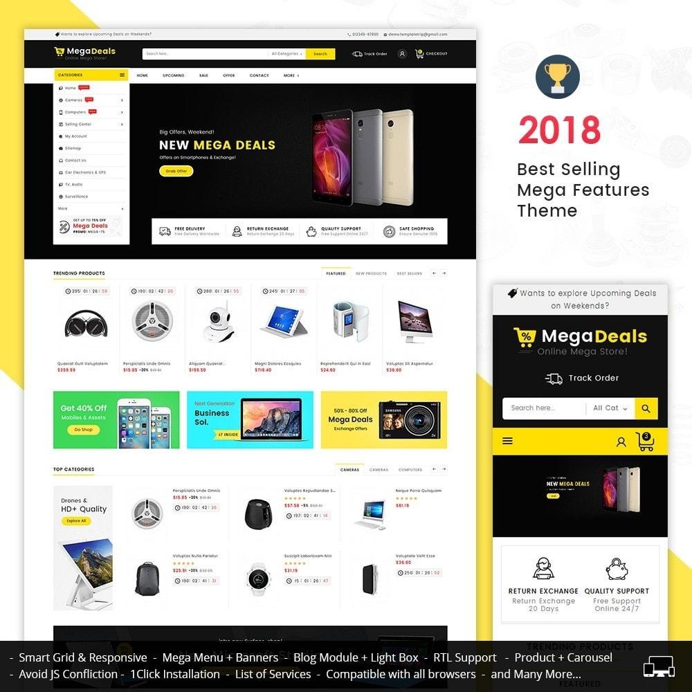 theme - Electrónica e High Tech - Mega Deals Electronics Mart - 1