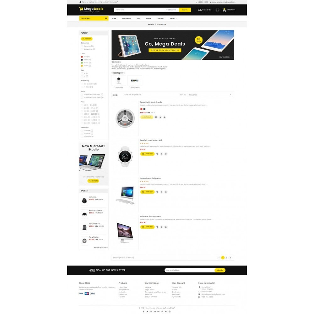 theme - Electronique & High Tech - Mega Deals Electronics Mart - 4