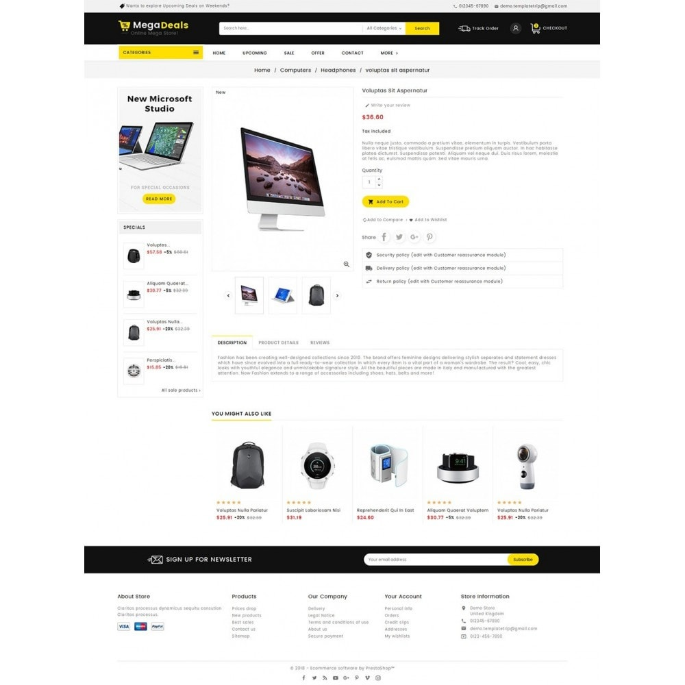 theme - Electronique & High Tech - Mega Deals Electronics Mart - 5