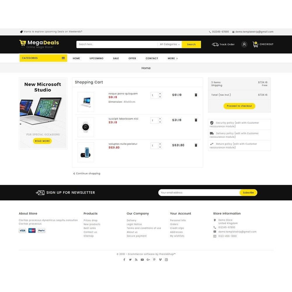 theme - Electrónica e High Tech - Mega Deals Electronics Mart - 6