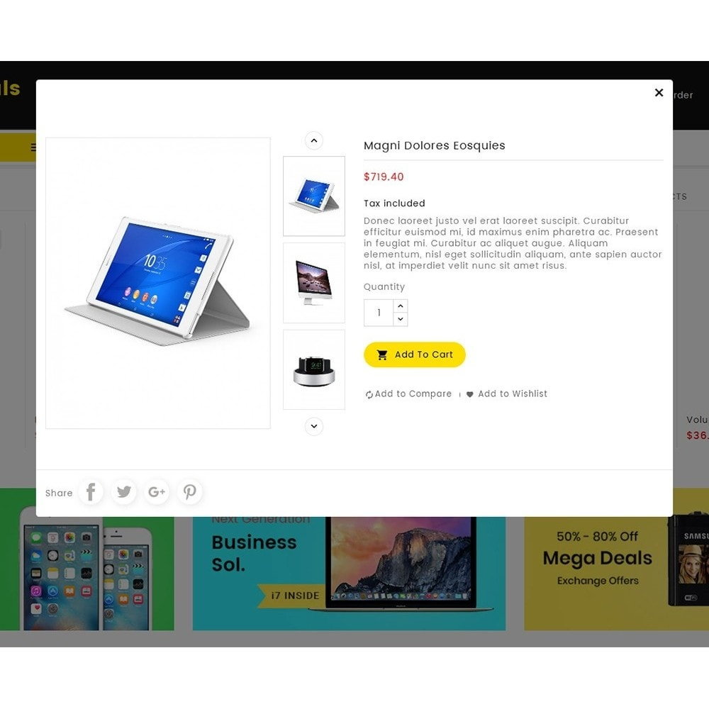 theme - Electronique & High Tech - Mega Deals Electronics Mart - 8