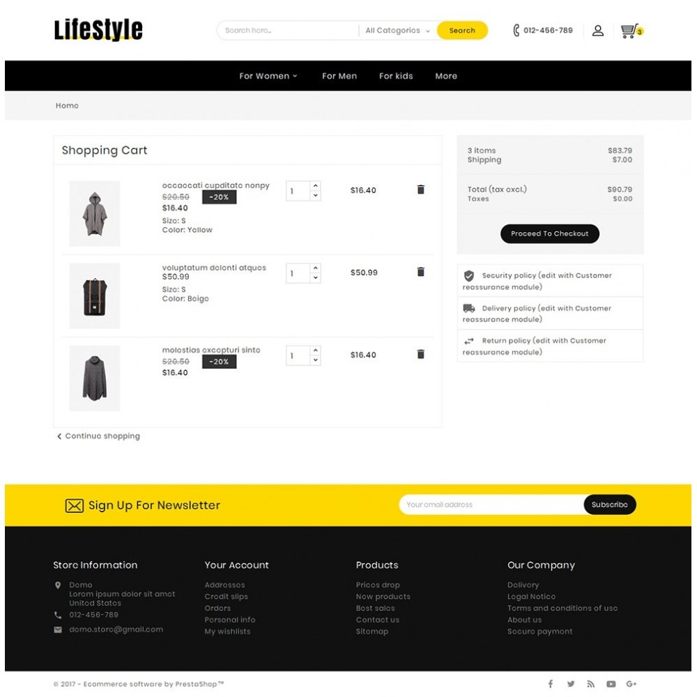 theme - Mode & Chaussures - Life Style Fashion Store - 7
