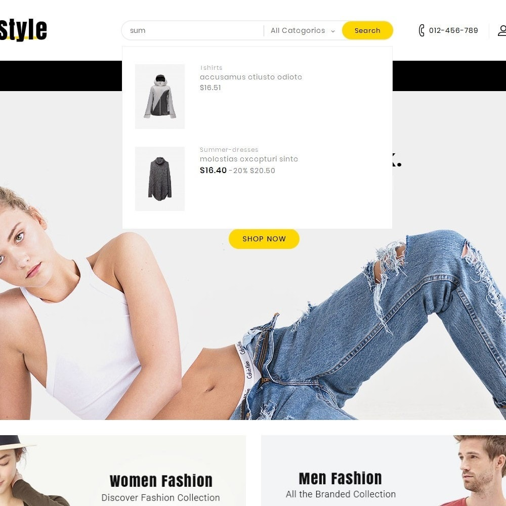 theme - Mode & Chaussures - Life Style Fashion Store - 10