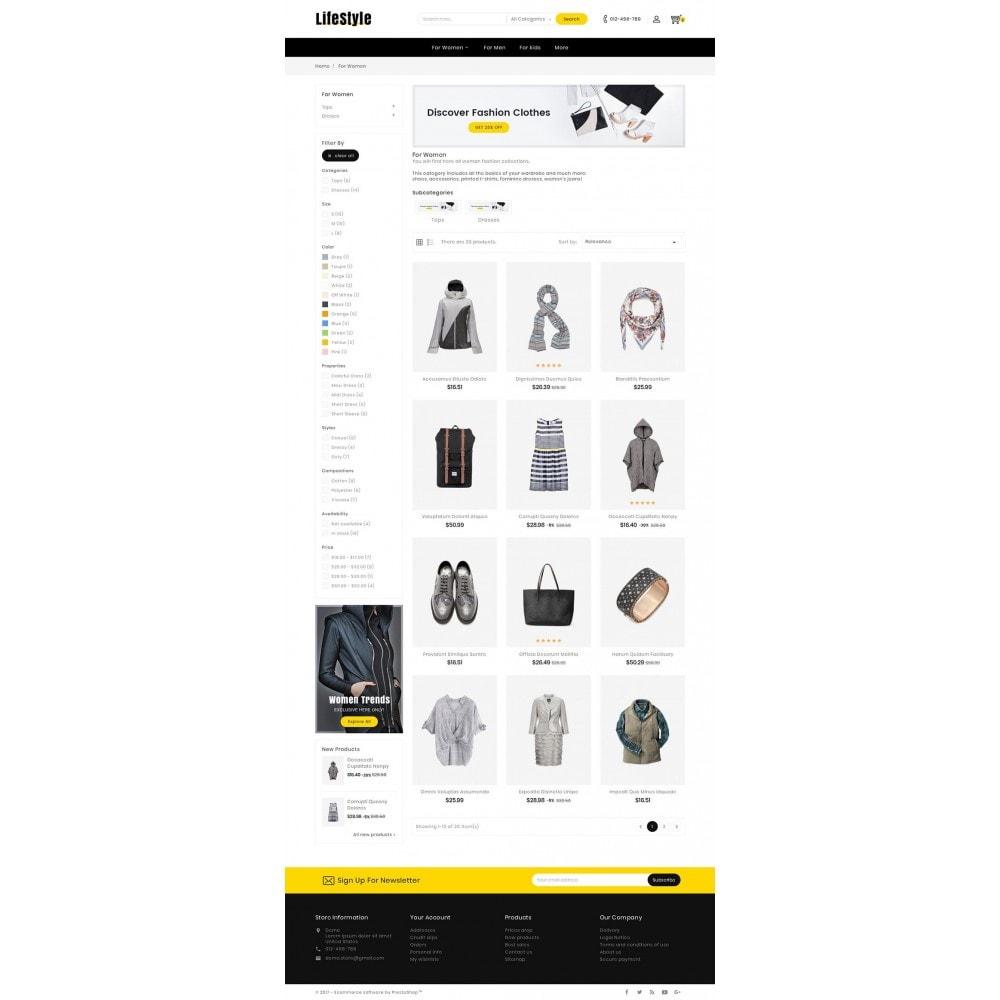 theme - Moda y Calzado - Life Style Fashion Store - 4