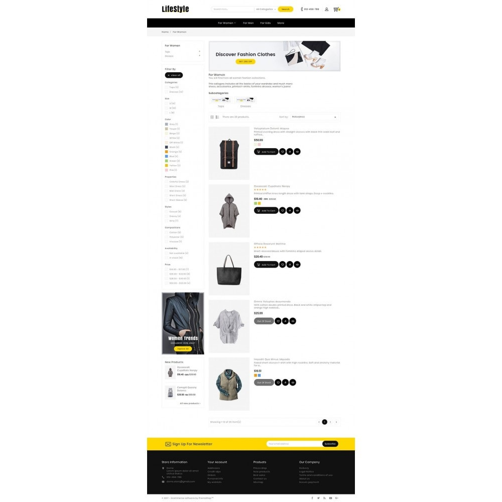 theme - Moda y Calzado - Life Style Fashion Store - 5