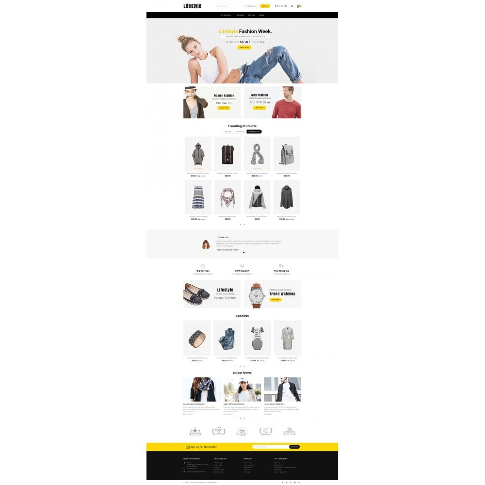 theme - Moda & Calzature - Life Style Fashion Store - 3