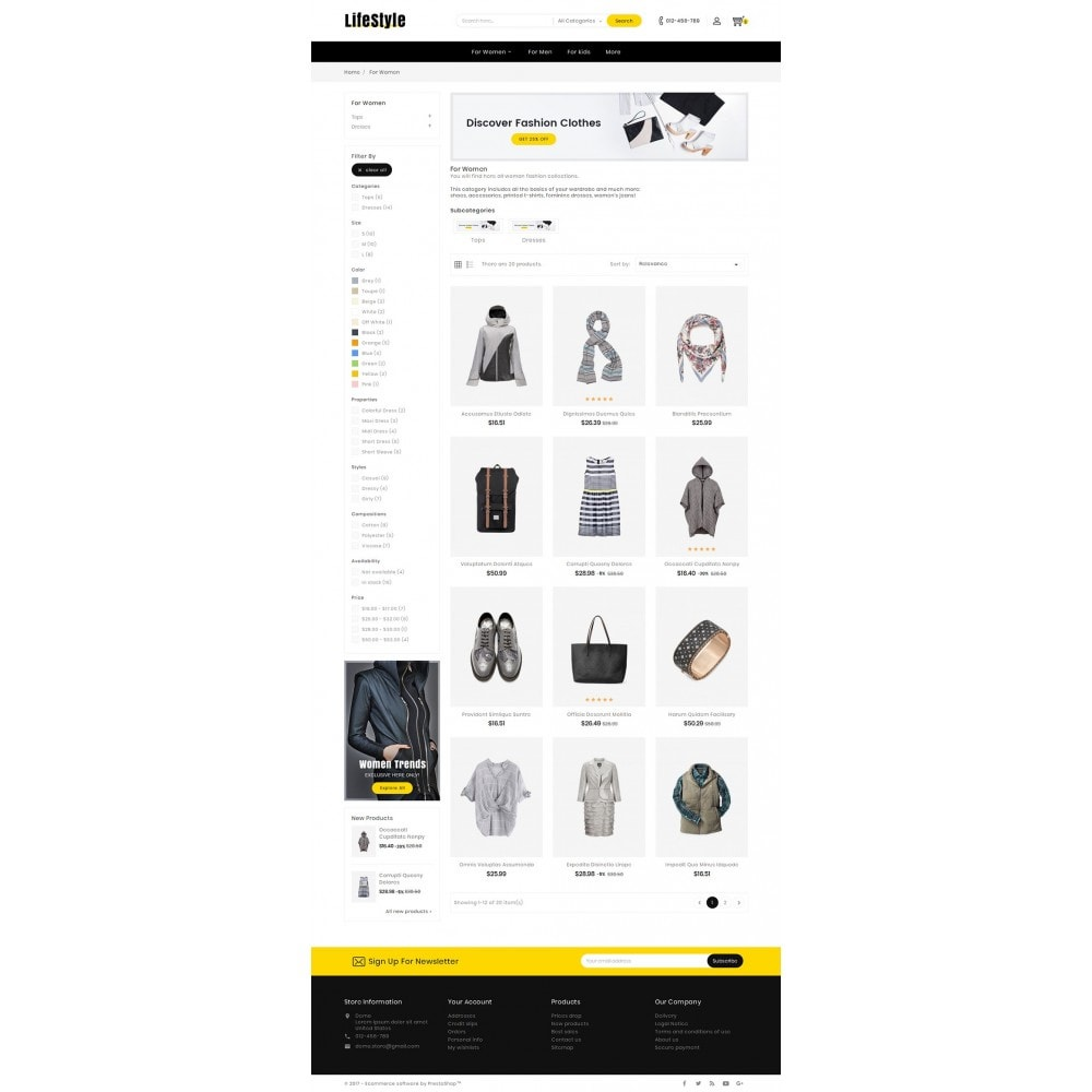theme - Moda & Calzature - Life Style Fashion Store - 4