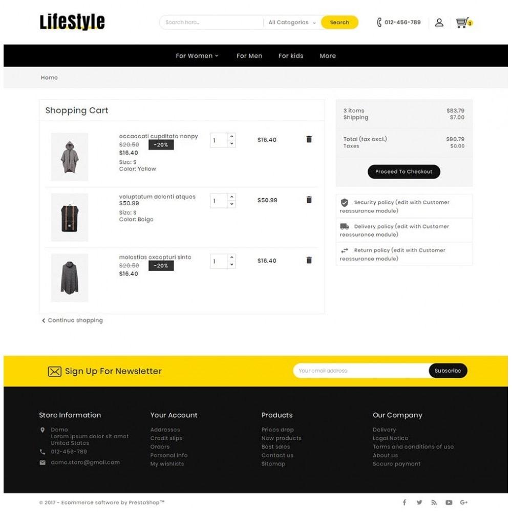 theme - Moda & Calzature - Life Style Fashion Store - 7