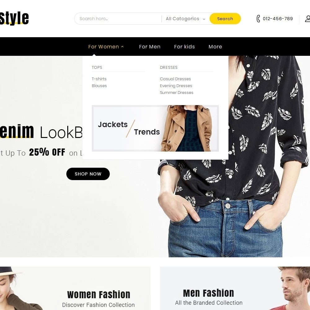 theme - Moda & Calzature - Life Style Fashion Store - 9