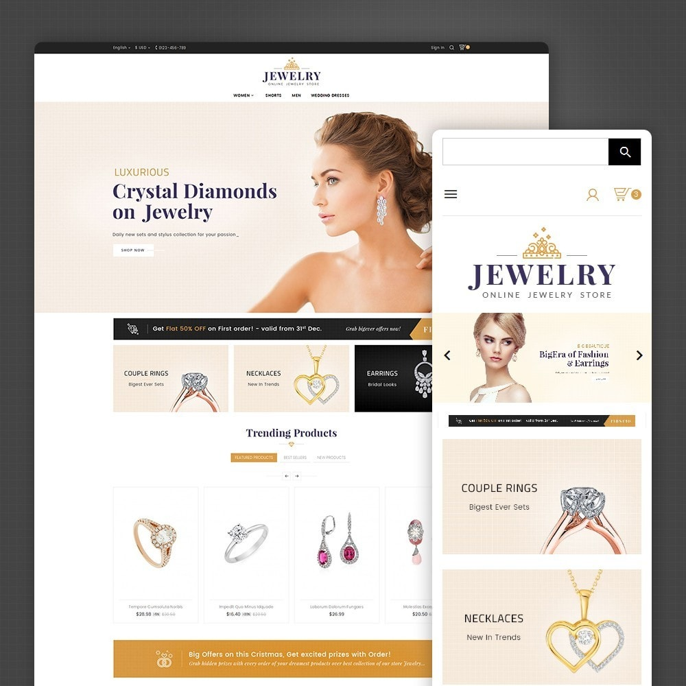 theme - Joyas y Accesorios - Jewelry Store - 2