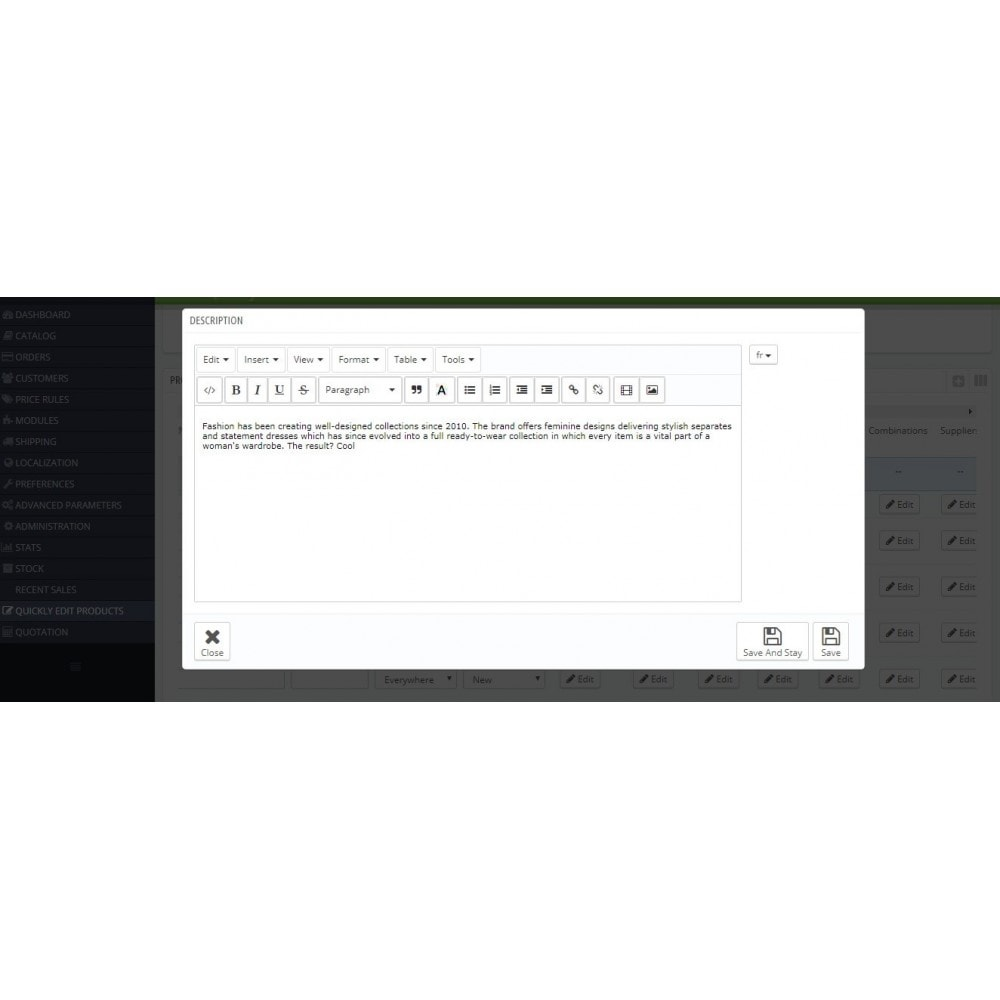 module - Инструменты администрирования - Quickly Edit Bulk/Mass Products, Combination - 10
