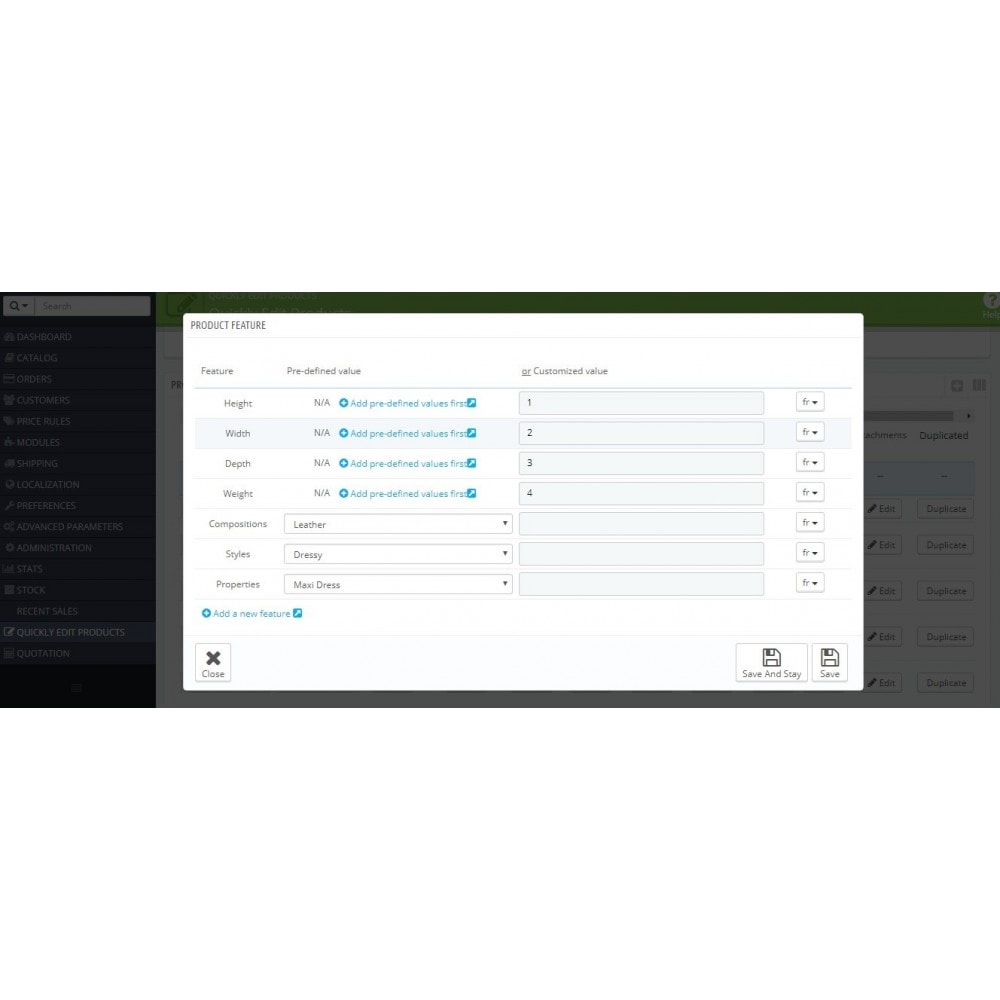 module - Инструменты администрирования - Quickly Edit Bulk/Mass Products, Combination - 16