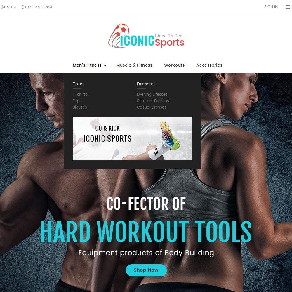 theme - Deportes, Actividades y Viajes - Iconic Sports Store - 9