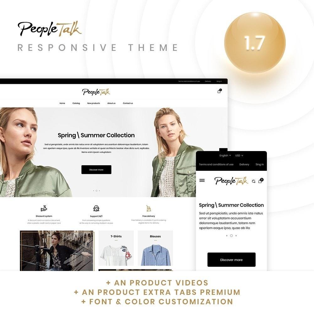 theme - Moda & Calzature - PeopleTalk Fashion Store - 1