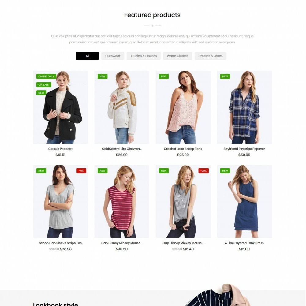 theme - Moda & Calzature - PeopleTalk Fashion Store - 3