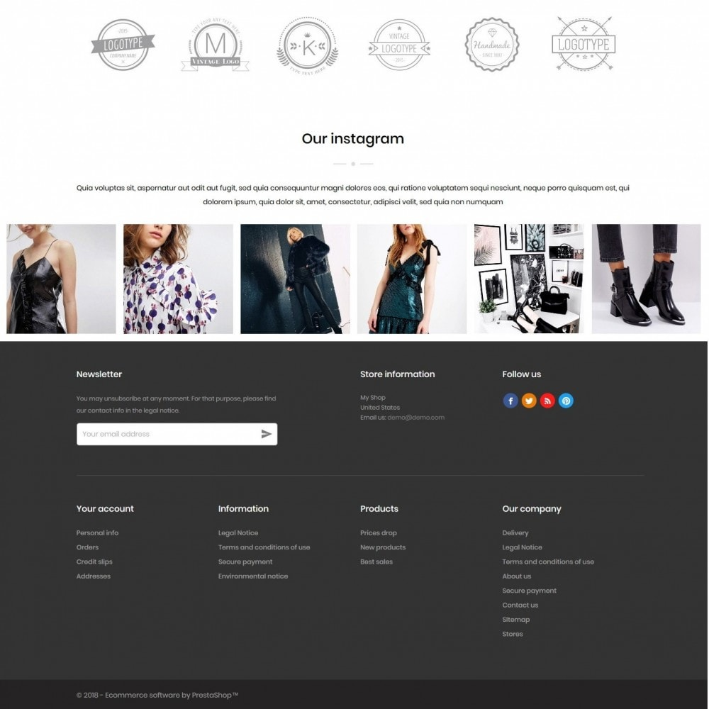 theme - Mode & Chaussures - PeopleTalk Fashion Store - 4