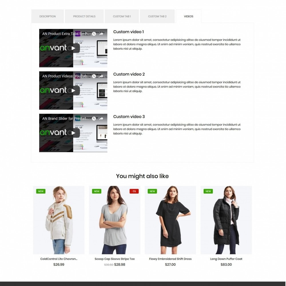 theme - Mode & Chaussures - PeopleTalk Fashion Store - 9