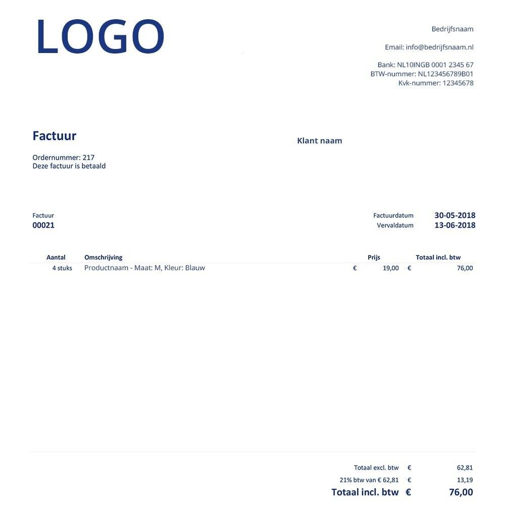 module - Księgowość & Fakturowania - FactuurSturen.nl - 3