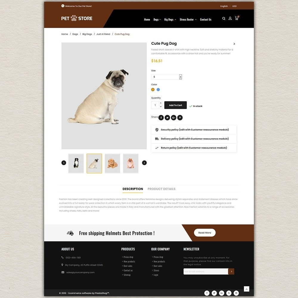 theme - Animals & Pets - Pet Store - 5