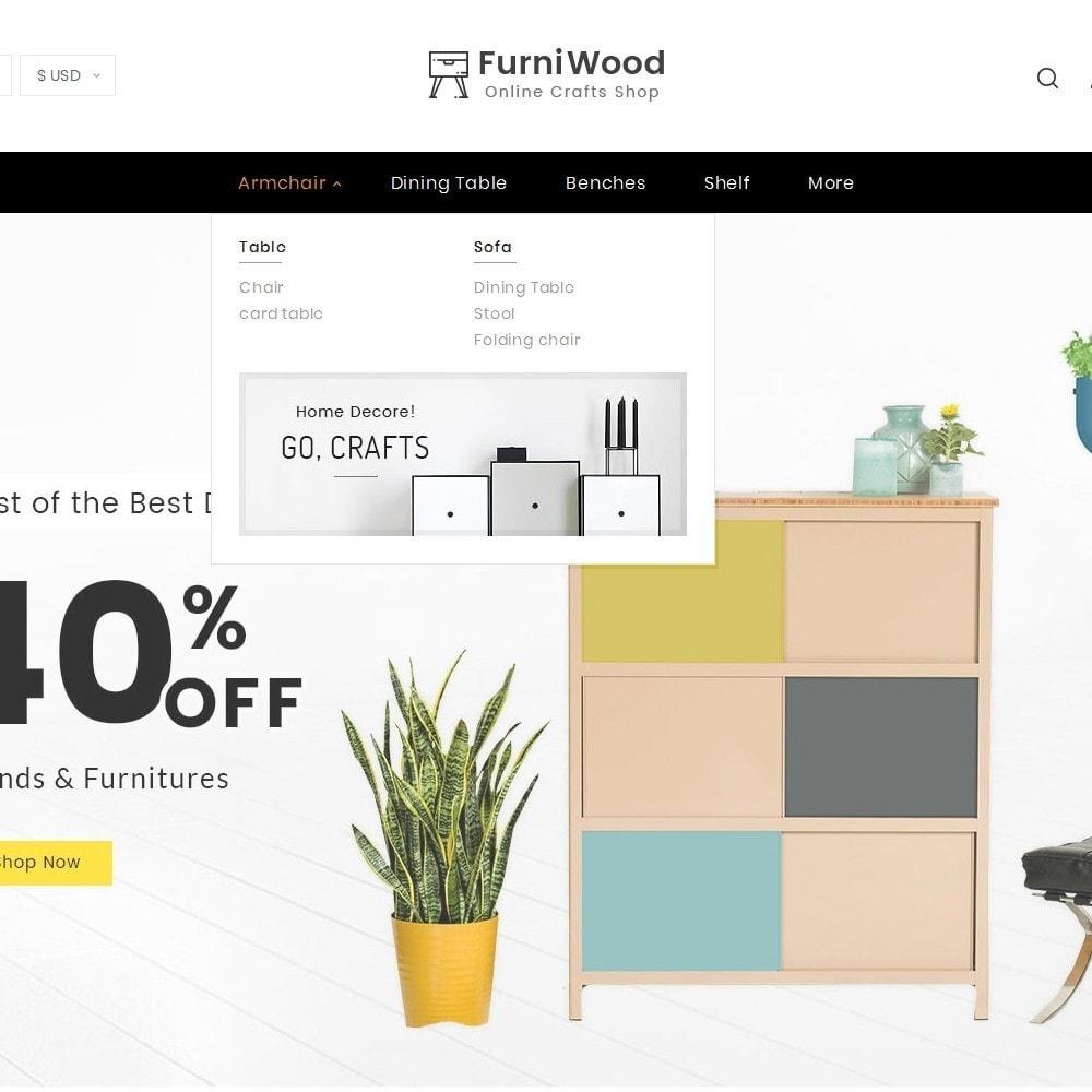 theme - Heim & Garten - FurniWood Decoration - 9