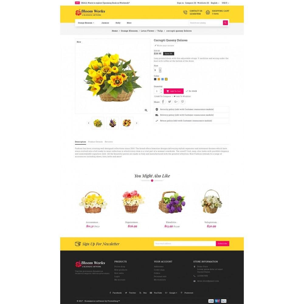 theme - Cadeaux, Fleurs et Fêtes - Flower Bloom Works - 6
