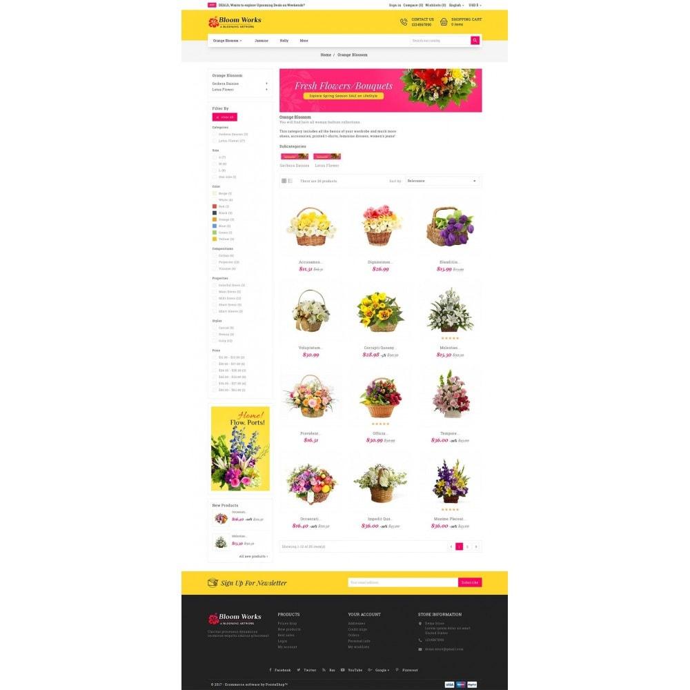 theme - Regali, Fiori & Feste - Flower Bloom Works - 4