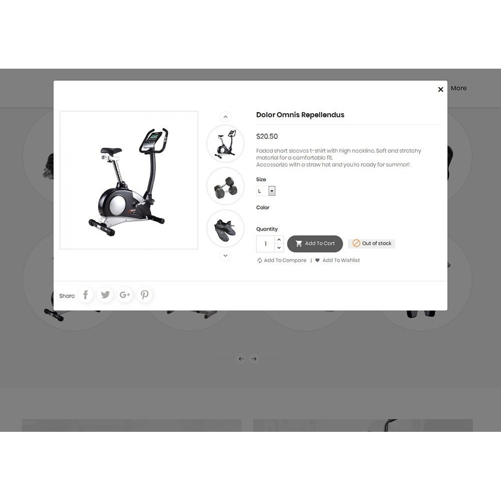 theme - Sport, Aktivitäten & Reise - Fitness Gym Equipment - 8