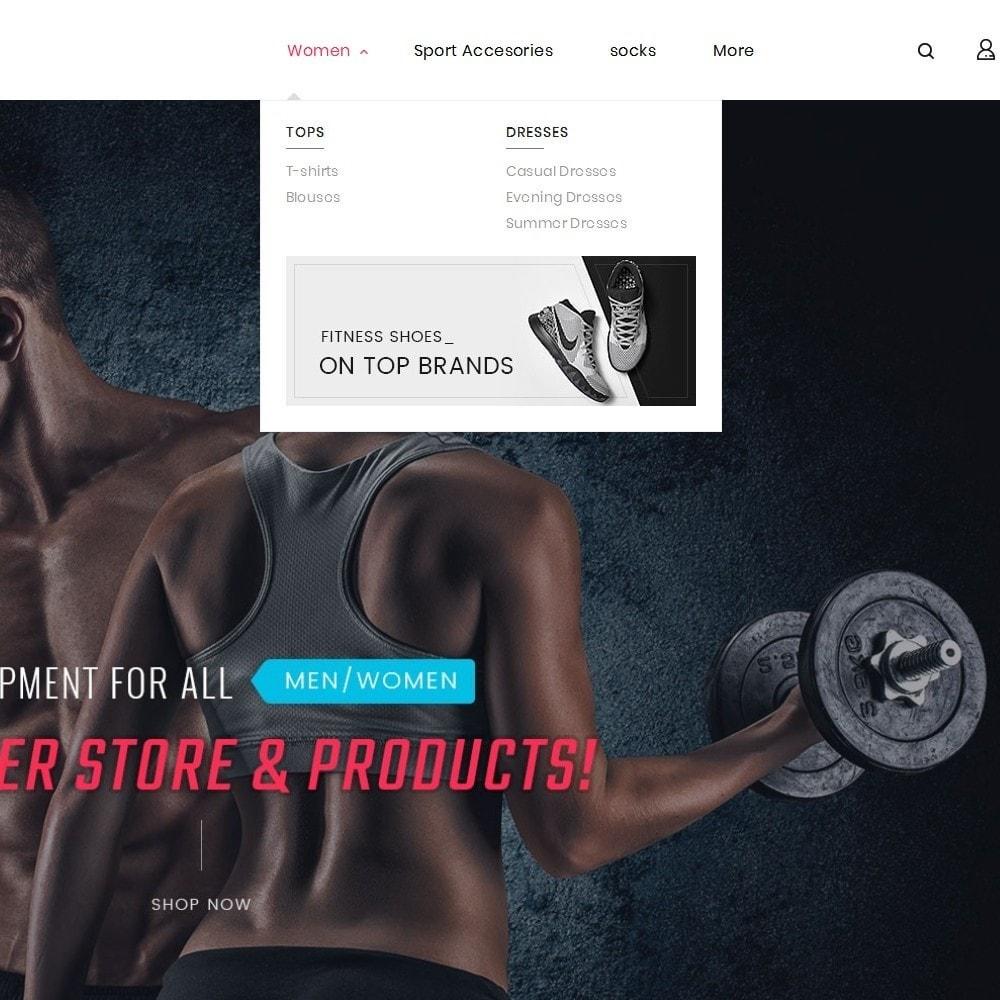 theme - Sport, Aktivitäten & Reise - Fitness Gym Equipment - 9