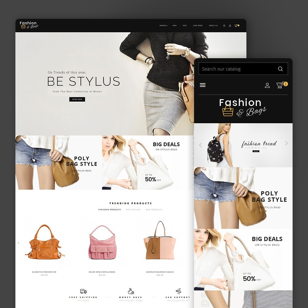 theme - Mode & Chaussures - Fashion Bag Store - 2